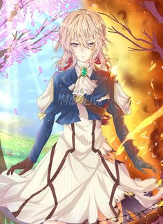 Read 17 from the story ✉✒VIOLET EVERGARDEN ✉✒ by _-cats_kawaii-_ (🌸kartoffel 🌸) with 663 reads. Manga Art, Manga Anime, Anime Art, Violet Evergarden Wallpaper, Violet Evergreen, Violet Evergarden Anime, Violet Garden, Anime Pictures, Sad Anime