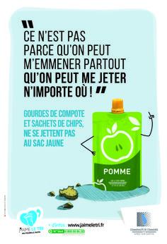 J'aime le tri ! Communauté de Communes de Sablé-sur-Sarthe #Linercommunication