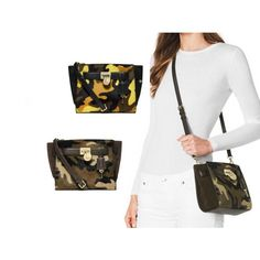 MICHAEL Michael Kors Jet Set Camo Travel Flap Card Holder | michael kors  clutches | Pinterest