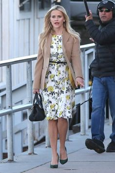 Reese Witherspoon wearing Chloe Alice Medium Satchel
