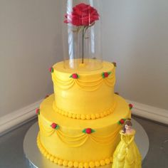 Image result for beauty and the beast cake
