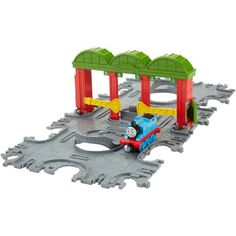 Fisher-Price Thomas and Friends Take-n-Play Knapford Station Tile Tracks