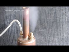 Make a Simple Boiler for Model Steam Engines Part 3 Safety Valve Solar System Projects, Lathe Projects, Miniature Steam Engine, Survival Kit, Wilderness Survival, Steam Boiler, Safety Valve, Diy Home Crafts, Science Experiments