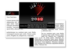 New Year 2012 PowerPoint Templates