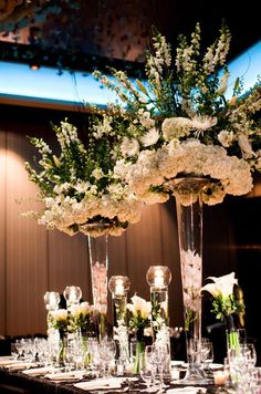 gorgeous table centerpieces