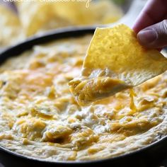 Chile Verde Chicken Cheddar Dip Recipe Appetizers with cream cheese, shredded cheddar cheese, salsa verde, rotisserie chicken