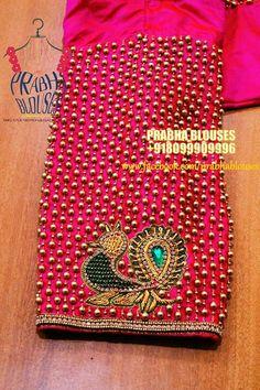 Kurta cloth Wedding Saree Blouse Designs, Pattu Saree Blouse Designs, Blouse Designs Silk, Blouse Patterns, Wedding Blouses, Choli Designs, Hand Work Blouse Design, Simple Blouse Designs, Aari Work Blouse