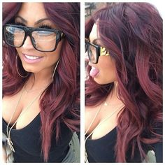 Love Tracy & this hair color! Hair Cute, Love Hair, Great Hair, Gorgeous Hair, Pretty Hair Color, Hair Color And Cut, Tracy Dimarco Hair, Look 2018, Red Hair Don't Care