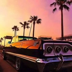 chicano state of mind Arte Lowrider, Lowrider Trucks, 64 Impala, Chevrolet Impala, Hydraulic Cars, Us Cars, Car Wallpapers, Kustom, Custom Cars