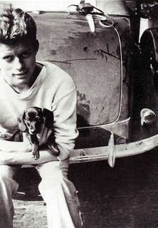 JFK & his dachshund