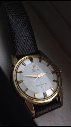 Vintage Omega Constellation Piepan 1950s