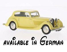B0786JSF9D : Bentley 4 1/4 Litre Barker hellgelb 1936 Modellauto Fertigmodell Brooklin 1:43. Baujahr : 1936. Maßstab : 1:43. Bauart : Fertigmodell. Material : Metall. Marke : Bentley