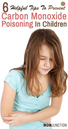 via @mom_junction 6 Helpful Tips To Prevent Carbon Monoxide Poisoning In Children Carbon Monoxide Awareness Week Nov 1-7