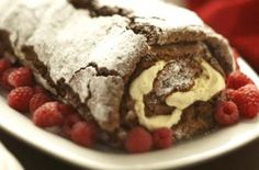 Mary Berry's ultimate chocolate roulade