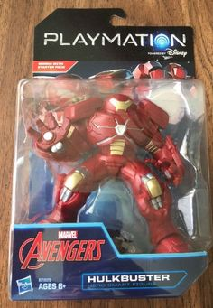 Disney Playmation Avengers Hulkbuster Marvel Hasbro New 6 B2829 Smart Figure | eBay