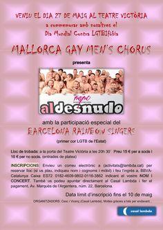 Dia mundial contra LGTBIfòbia, concert de Mallorca Gay Men's Chorus