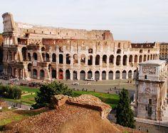 The grand architecture of the ancient Roman Colosseum.   Photographer: Alvin dela Pena