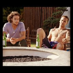 Ben and Chon. It must be so tough to be Blake Lively! To have to film steamy love scenes with these two guys AND to have to be married to Ryan Reynolds in real life?! I don't know how she does it. Le sigh...