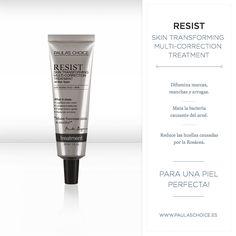 Resist Skin Transforming Multi-Correction Treatment ofrece una triple acción tratante, gracias a su potente fórmula con ácido azelaico que: disminuye los brotes de acné, difumina las manchas de hiper-pigmentación y marcas rojas de acné pasado, además de reducir las arrugas. ¡No olvides la oferta del 15% de descuento disponible todo el mes de Junio, en todos nuestros serums! Haz de una piel perfecta, una realidad  https://lnkd.in/dy2Pp88