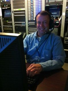 Robert Byers - a Jack of all trades. He anchors, reports and produces!