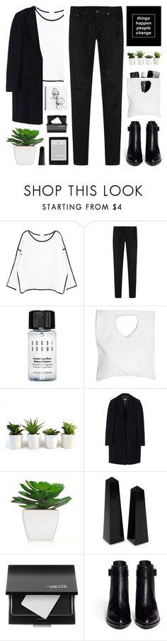 """//Simple Basics//"" by lion-smile ❤ liked on Polyvore featuring Chicnova Fashion, R13, Chapstick, Bobbi Brown Cosmetics, Jennifer Haley, MSGM, NOVICA, Trish McEvoy, Alexander Wang and modern"
