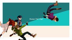 Human Fall Flat, Shit Happens, Twitter