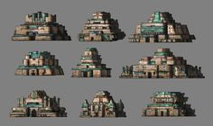 ArtStation - Ancient Civilisations: Lost & Found Environment Design, Junhong Long