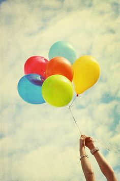 sky and baloon.