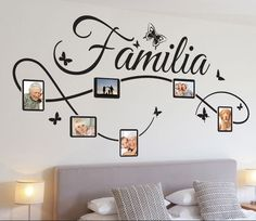 A nice design of a wall decal for the decoration of your living room or bedroom. Brilliant family wall art sticker for your home. Family Wall Decor, Diy Wall Decor, Living Room Decor, Bedroom Decor, Dining Room, Wall Stickers Home Decor, Wall Decals, Family Tree Wall Sticker, Vinyl Wall Art