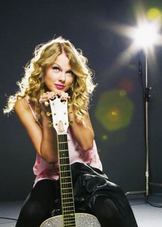 Love the guitar pic but I'd like to see a little more of the guitar!
