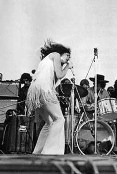 Grace Slick, Jefferson Airplane at Woodstock
