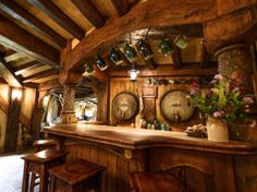The Green Dragon Inn: The Hobbiton Movie Set in Matamata, New Zealand