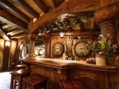 The Green Dragon Inn: The Hobbiton Movie Set in Matamata, New Zealand