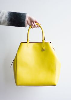 This Bold And Bright Yellow Carry All Tote Is The Perfect Accessory For Your Holiday