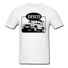 Land Rover Discovery illustration T-Shirt | Spreadshirt | ID: 12432740