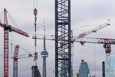 Toronto leading the western world in high highrise development