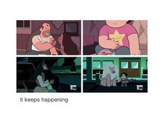 I feel so bad. It's actually awesome, though how Steven doesn't let this effect him! I BELIEVE IN STEVEN!