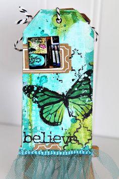 Ronda Palazzari I live for Art Tag Mini beautiful colors !