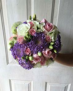 CBR348 weddings Riviera Maya lilac, pink and white bouquet/ ramo lila rosa y blanco