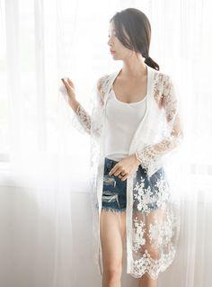 Kang Hye Yeon - All White Beauty
