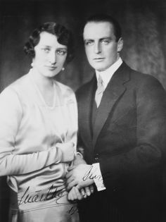 Crown Prince Olav of Norway and his wife Crown Princess Martha of Norway | Royal Collection Trust