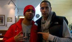 Rio Ferdinand and Drake - Twats Times Two - http://www.crispculture.com
