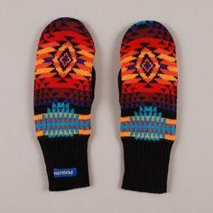 Pendleton mittens