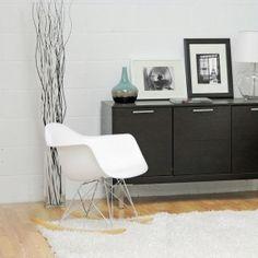 Baxton Studio White Plastic Rocking Chair midcentury-rocking-chairs $104