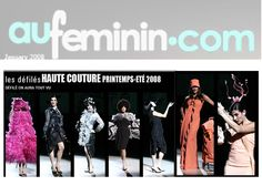 Aufeminin.com january 2008 Couture by on aura tout vu
