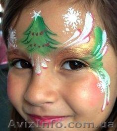 Боди-арт, фейс-арт, аквагрим, рисунки на лице и теле, Объявление #898595