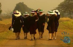 Always loved this image of Mennonites by a friend in Bolivia - Dado Galdieri