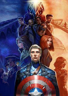 Captain America 1 vs 2