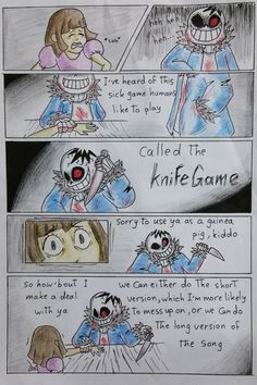 Knife game~ (Part 3)