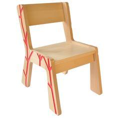 Chair VolumeZero - Red - Kidsonroof - Chairs | MyLittleRoom